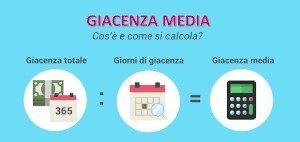come si calcola la giacenza media