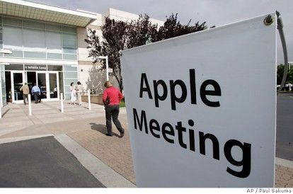meeting azioni apple