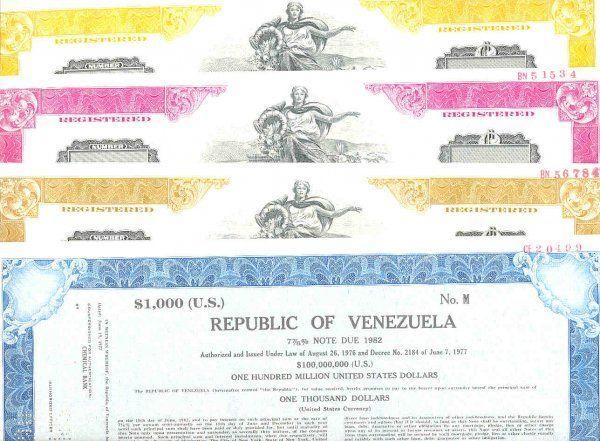 bond venezuela america