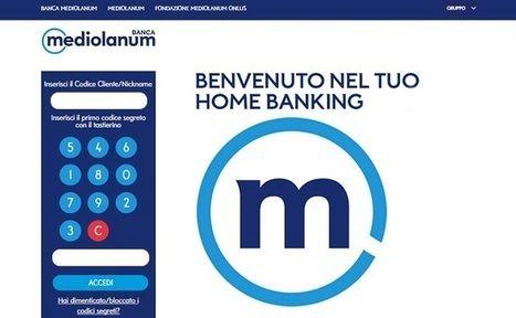 home banking mediolanum